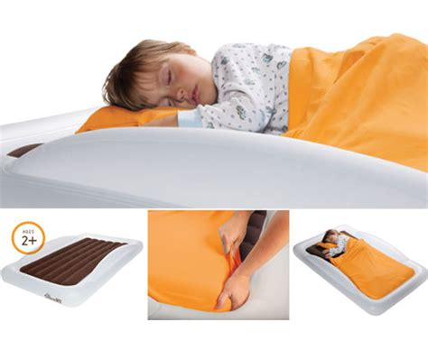inflatable toddler bed quot the shrunks quot inflatable travel beds and bed rail