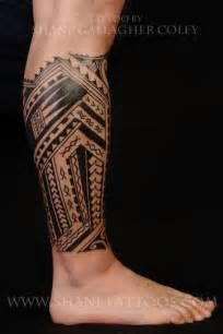 tattoo on leg for men mens leg tattoos polynesian search maori
