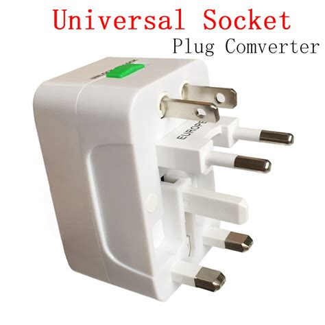 Lensa Universal 3 In 1 new universal adapter socket comverter universal all in 1 travel electrical power adapter