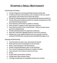 small restaurant business plan template 32 free restaurant business plan templates in word excel pdf