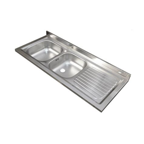 lavello due vasche lavello inox 135 a due vasche per mobile serie