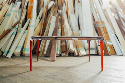 Pied De Table Amovible 1467 by Les Pieds De Table En M 233 Tal The Floyd Leg