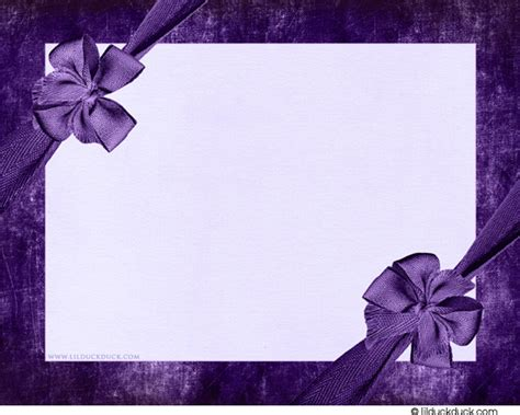 Design Your Own Home Online Easy by Bow Purple Blank Wedding Card Templates