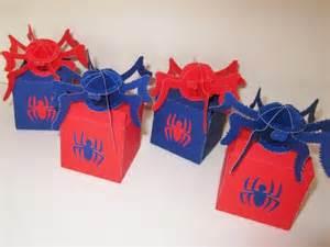Caja souvenirs cumple hombre arana spiderman 6601 mla5092616588 092013