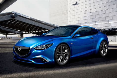 mazda sporty mazda 6 to go sporty with swoopy coupe version auto express