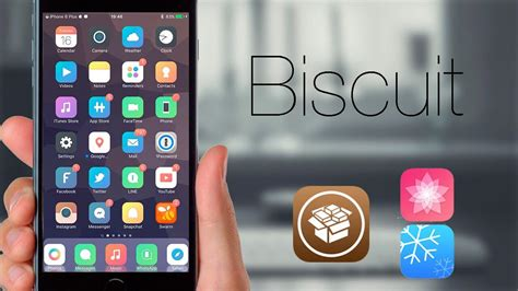 clock themes ios 9 biscuit incre 237 ble theme para nuestro idevice con ios 9
