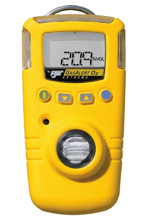 Alarm Gas portable gas detector with datalogging and multi language support gasalert honeywell