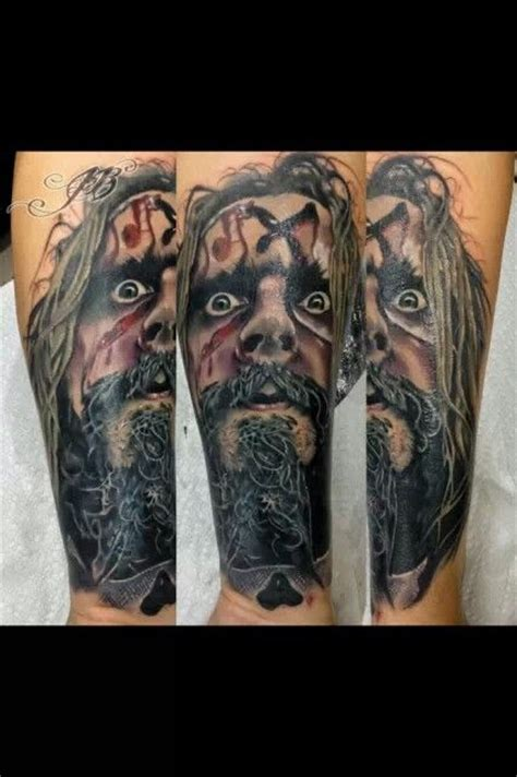 rob zombie tattoos rob tattoos other stuff