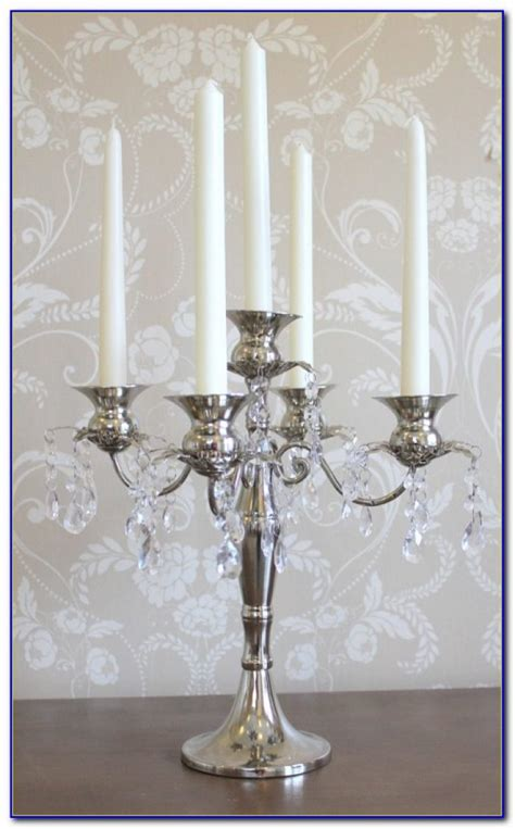 Tabletop Crystal Candle Chandelier Tabletop Home Table Candle Chandelier