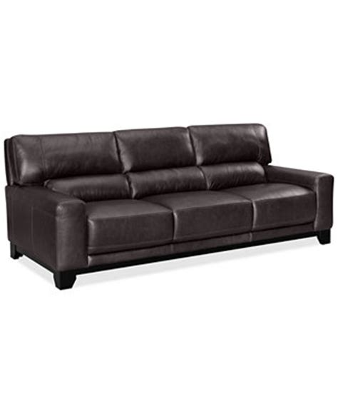 macys ii leather sofa luke ii leather sofa furniture macy s