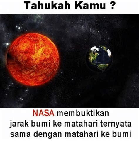 tahukah kamu tahukah kamu nasa membuktikan jarak bum i ke matahari