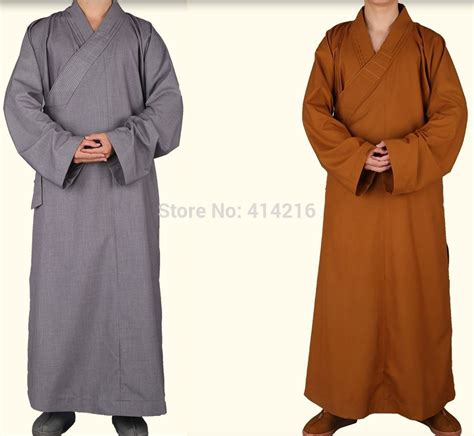 shaolin robes autumn buddhist monks kung fu shaolin temple costumes