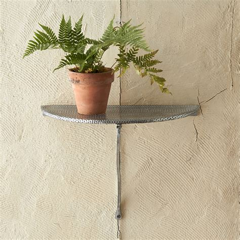 Wall Plant Shelf by Get The Garden Home Look