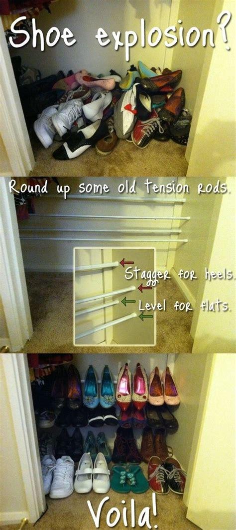 Bottom Of Wardrobe Storage by 17 Best Ideas About Closet Shoe Storage On