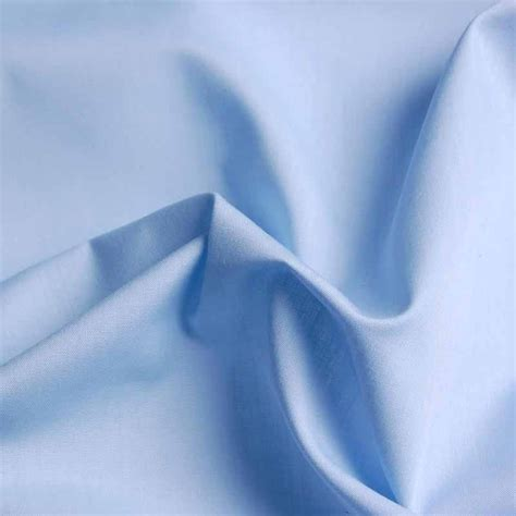 Poly Cotton by Light Blue Poly Cotton Fabric 112cm Abakhan Abakhan