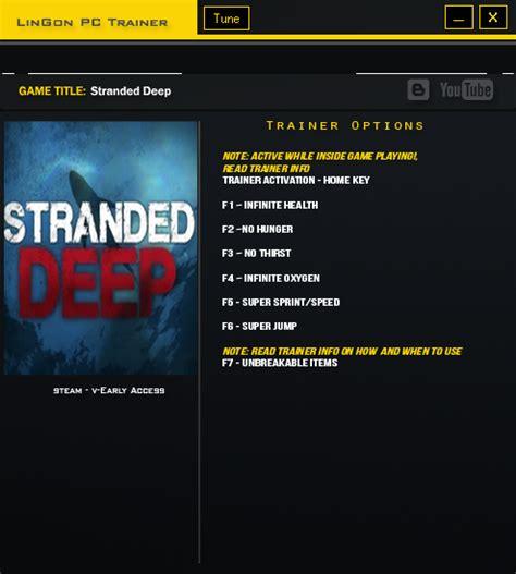 stranded deep trainer  bit andhika net tempatnya  software gratis