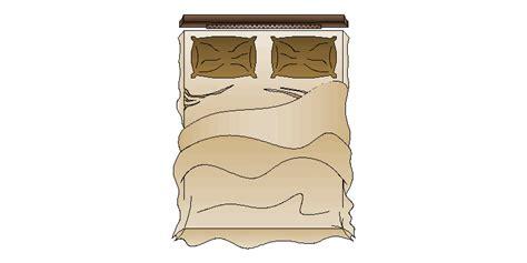 vista color bloques autocad gratis de cama doble a color vista en