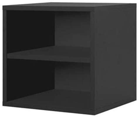 Single Cube Shelf by Modular Cube Storage Single Shelf In Closet Modular Storage