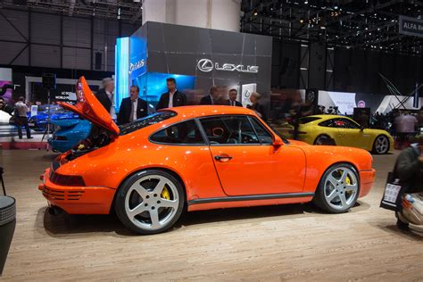 ruf porsche 964 ruf automobile at the 2016 geneva motor show in pictures