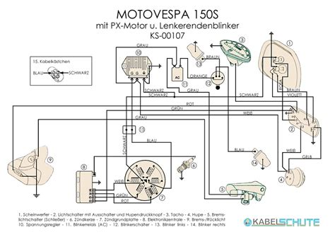 wiring diagram for 1980 vespa p200e 1980 vespa px wiring