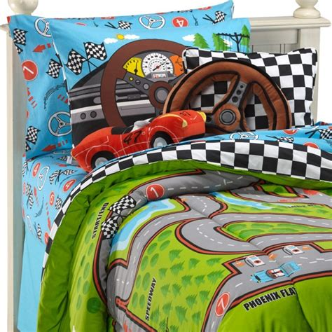 racing bedding race car bedding casa pinterest