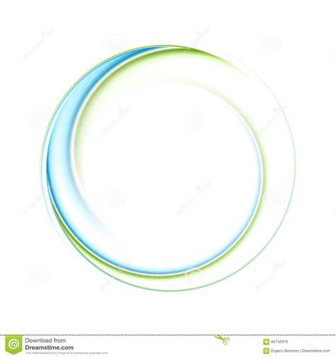 circle logo design swash blue green stock vector 254031382 abstract bright blue green iridescent circle logo stock
