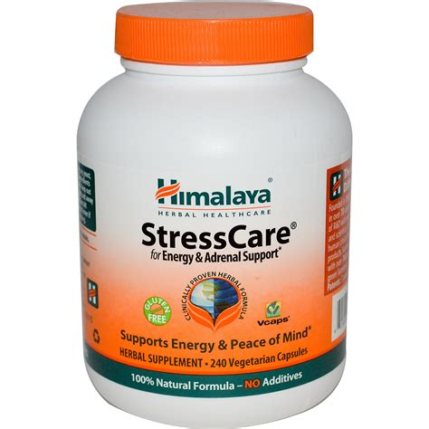 stress j supplement himalaya herbal healthcare stresscare 240 veggie caps