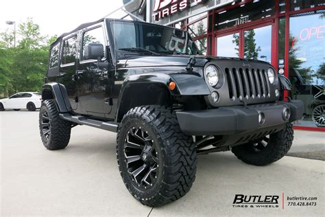 jeep fuel wheels jeep wrangler custom wheels fuel assault 20x et tire