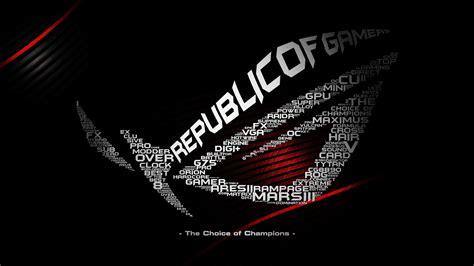 asus wallpaper hd 1080p republic of gamers wallpaper hd wallpapersafari