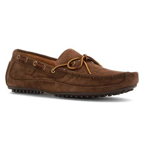 brown polo loafers polo ralph wyndings suede loafers in brown for