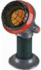 camping heater gas patio garage tent propane compact space