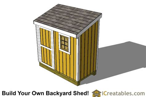 4x8 Lean To Shed by 4x8 Lean To Shed With Window Plans Outdoor Sheds Plans