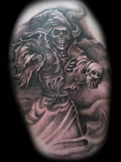 reaper tattoo grim reaper tattoos designs meanings inkdoneright