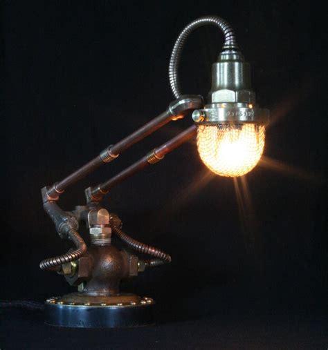 artistic lighting steunk styled found art ls by cory barkman gadgetsin