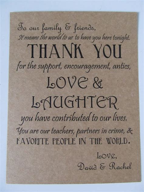 Wedding Quotes For Your by Thank You Quotes For Wedding Favors Quotesgram