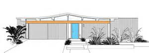 Eichler Style House Plans by Eichler Home Plans