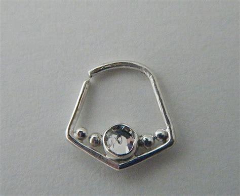 Decorative Septum Jewelry decorative septum rings aesthetic contradiction