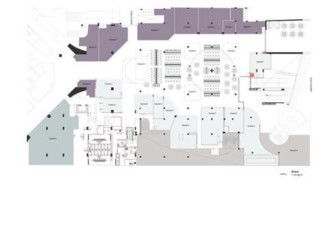 food court floor plan mlc centre food court luchetti krelle archdaily