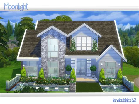 4 family homes moonlight house by lenabubbles82 at tsr 187 sims 4 updates
