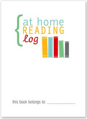 reading log cover printable librarianism chronicles your organized classroom free