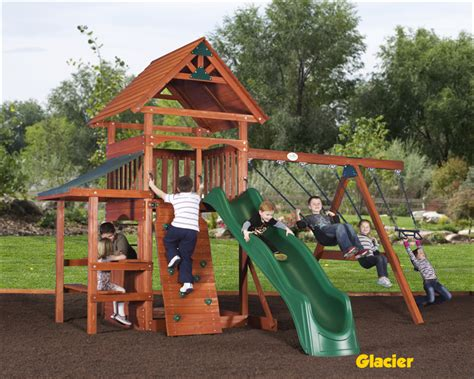 Expedition Series Charlotte Playsets Wooden Swing Sets