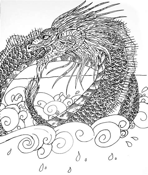 Sea Serpent Coloring Pages sea serpent coloring pages