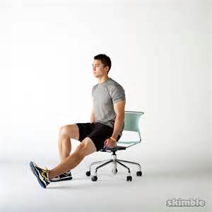 Bosu Chair Seated Hip Flexor Lifts Exercise How To Workout