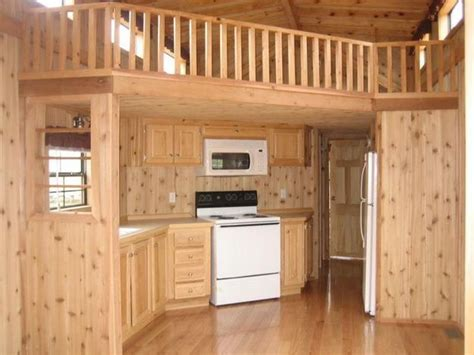 Trailer Homes Interior A Look At Park Model Homes Single Wide Cabin And Model