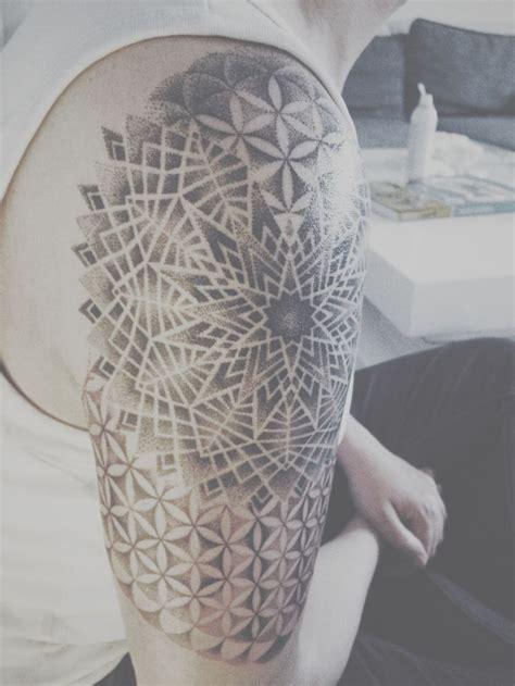 mandala tattoo sacred geometry 25 best ideas about flower of life tattoo on pinterest