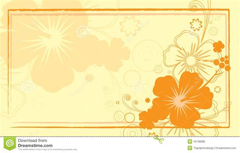 hibiscus card template hibiscus business card stock vector image of flower