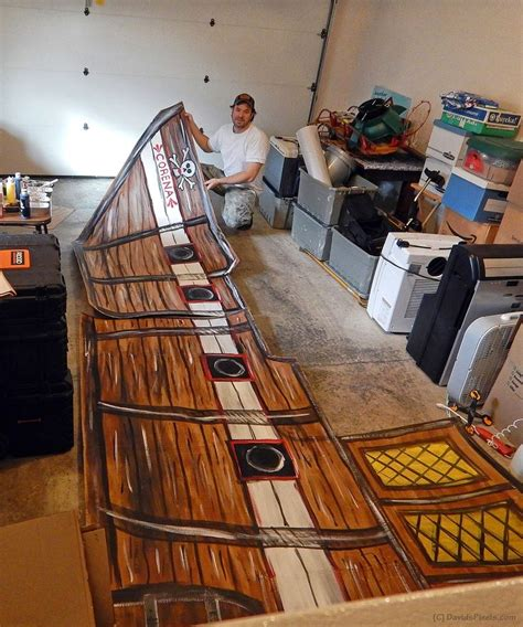 what are boat props made of 25 best ideas about cardboard pirate ships on pinterest