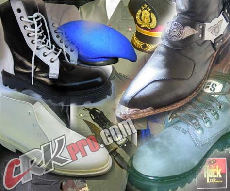 Sepatu Pdl Boot Tni Sepatu Kickers Boot Safety High Tinggi Kulit Asli sepatu safety murah sepatu handmade sepatu boots pria dan
