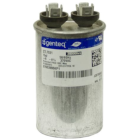 what does mfd capacitor 15 mfd 370 run capacitor genteq motor run capacitors capacitors electrical www
