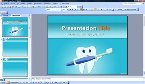 Cosmetic Dentistry Powerpoint Template Free Dental Powerpoint Templates